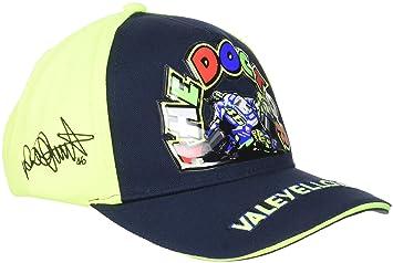VR46 Hombre Valentino Rossi - Gorra Infantil The Doctor Tapa, Azul/Amarillo, One Size: Amazon.es: Deportes y aire libre