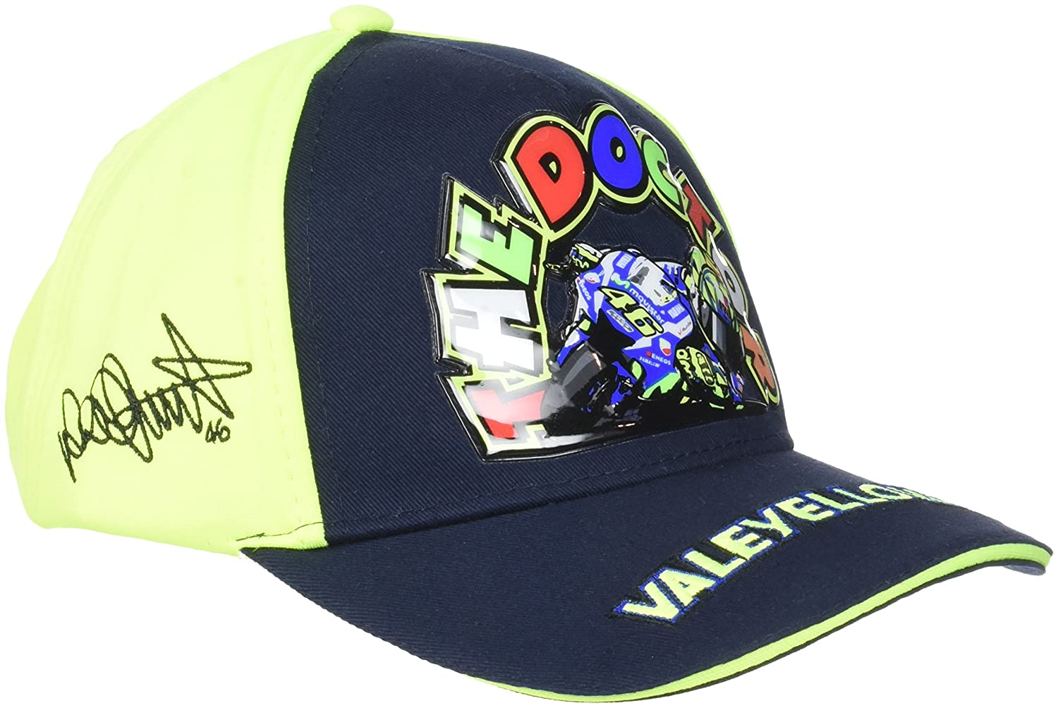 VR46 Hombre Valentino Rossi - Gorra Infantil The Doctor Tapa, Azul ...