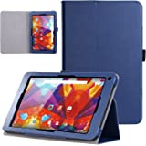 Alba 10 Inch Tablet Case,VOVIPO Leather Stand Folio Case Cover For Alba 10 Inch Tablet (Blue)