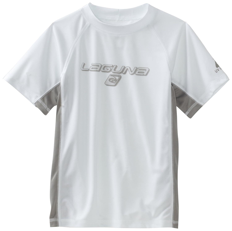 Laguna Boys Loose Fit Rashguard Swim & Sun Shirt, Long Sleeve and Short Sleeve, UPF 50+ Laguna Children's Apparel