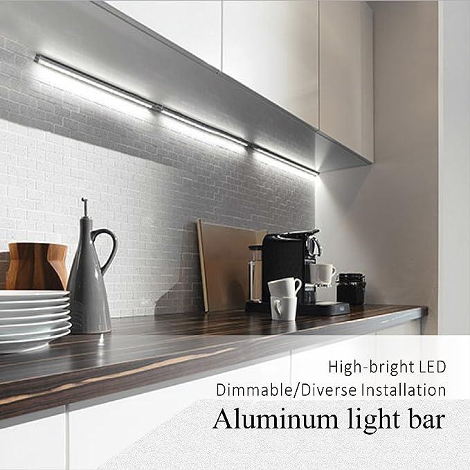 woraton under cabinet lighting kitchen lighting dimmable 3000k warm rh amazon com
