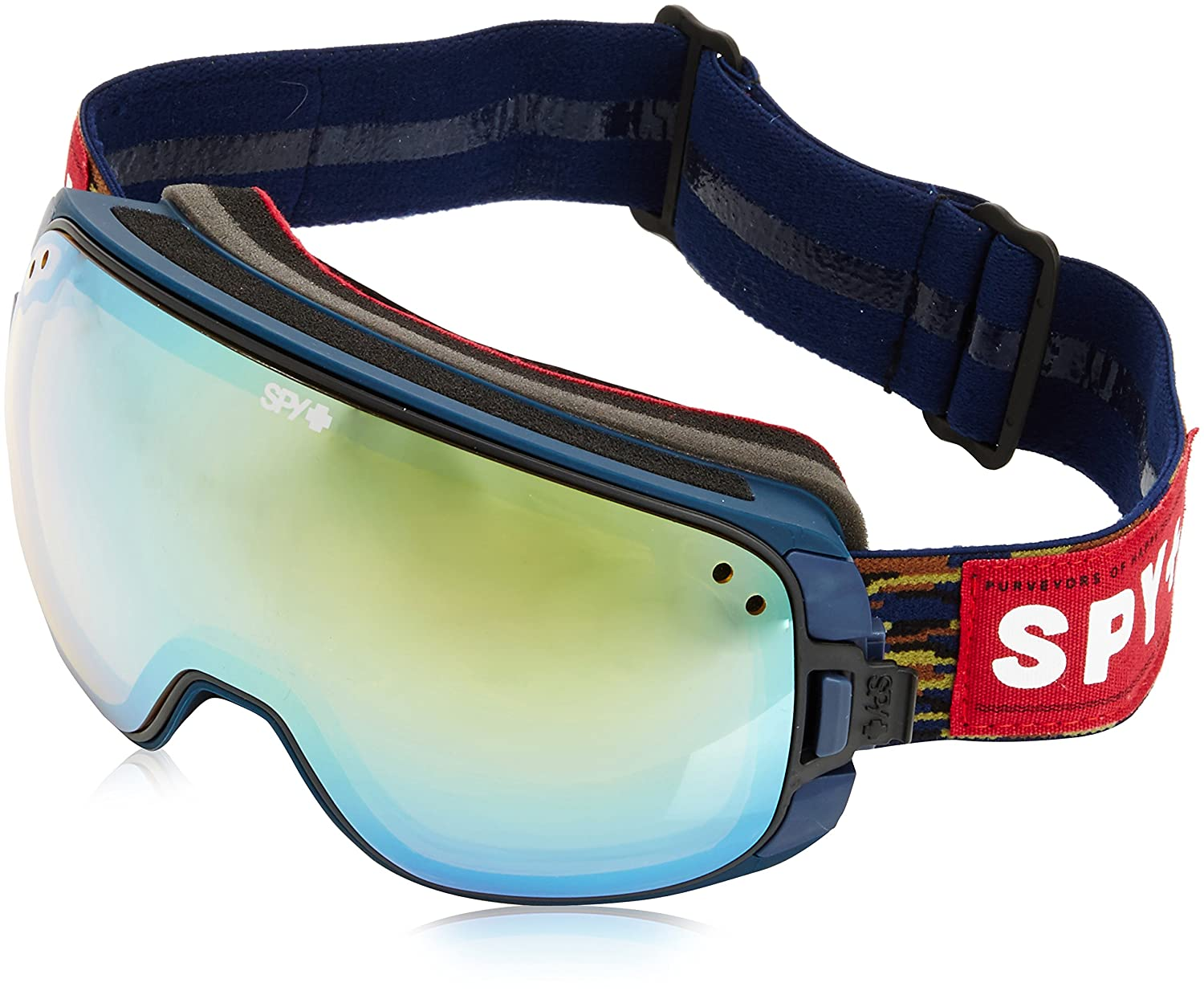 Spy Snow Goggle Bravo - Party Fatigue (with/Bonus Lens) - Gafas de esquí, color negro, talla única: Amazon.es: Deportes y aire libre