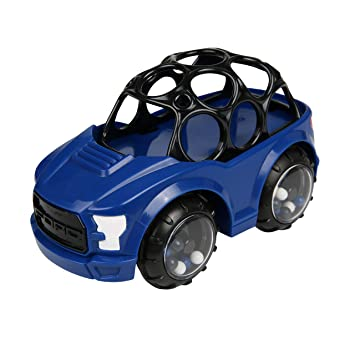 Oball 1 Piece Rattle Roll Car Baby Toy Play Vehicle Random Blue or Red Original