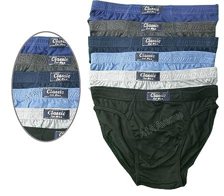 148ee8180806 Pack of 6 Men's Comfortable Classic Slips Briefs Pants Underwear Size:  S-5XL (2XL): Amazon.co.uk: Kitchen & Home