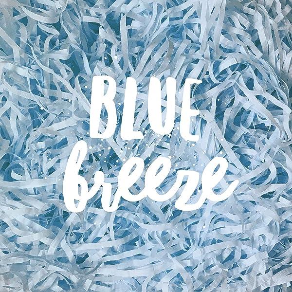 Turquoise Bright Vibrant Blue Shredded Tissue Paper Shred Hamper Gift Box Basket Filler Fill Baby Boy Shower Wedding Party Christmas Decor