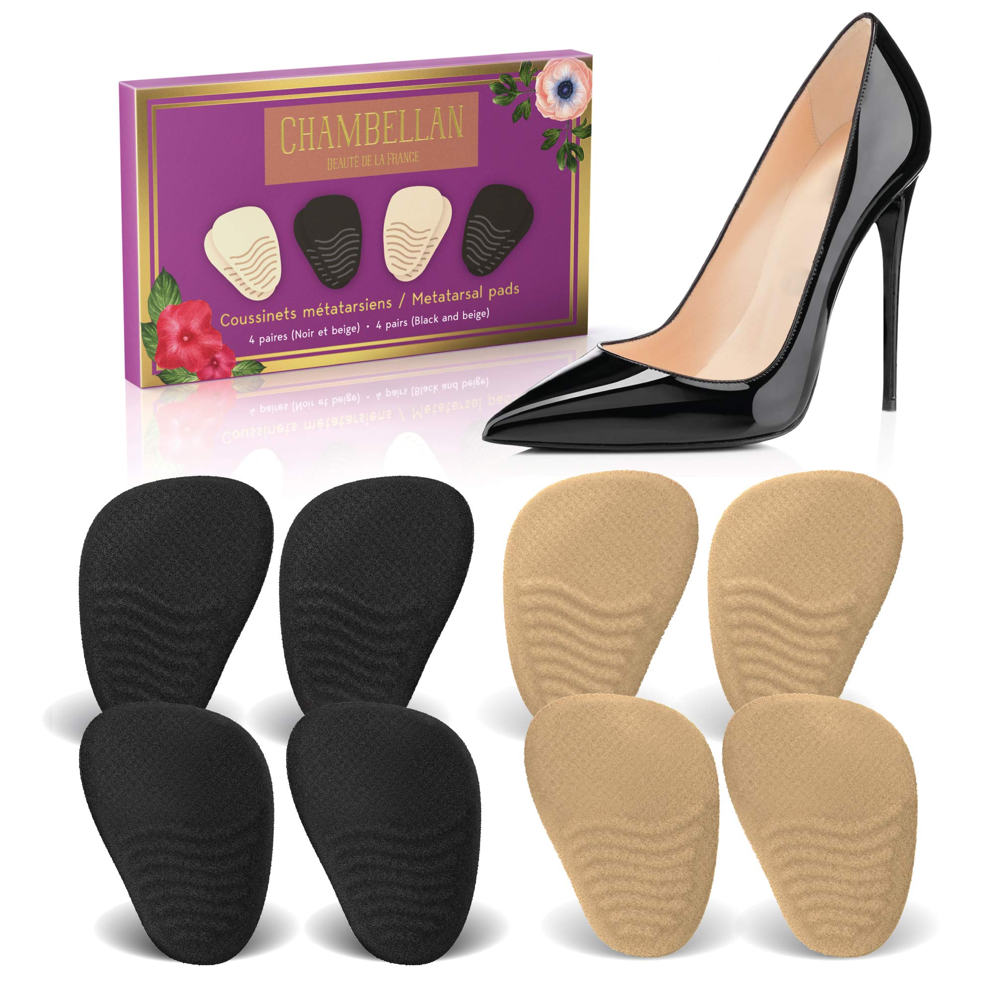 93aa7cbbfad Heel Cushion Inserts (4 Pairs  8 Pieces) - Shoe Inserts Women - High