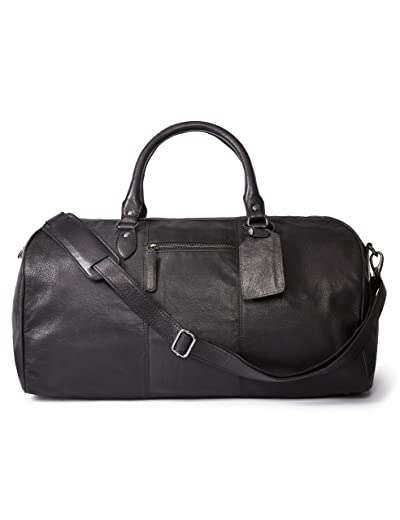 Leather Architect Men's 100% Leather Duffle Bag