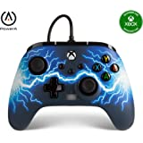 PowerA Enhanced Wired Controller for Xbox Series X|S - Arc Lightning, Gamepad, Wired Video Game Controller, Gaming Controller