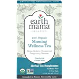 Earth Mama Organic Morning Wellness Tea for Occasional Morning Sickness, 16-Count
