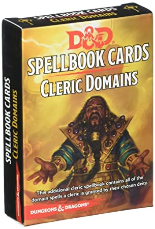 Dungeons & Dragons - Spellbook Cards - Cleric Domains