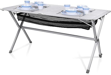 Mesa de camping Campart Travel TA-0806 – 140 x 80 cm ...