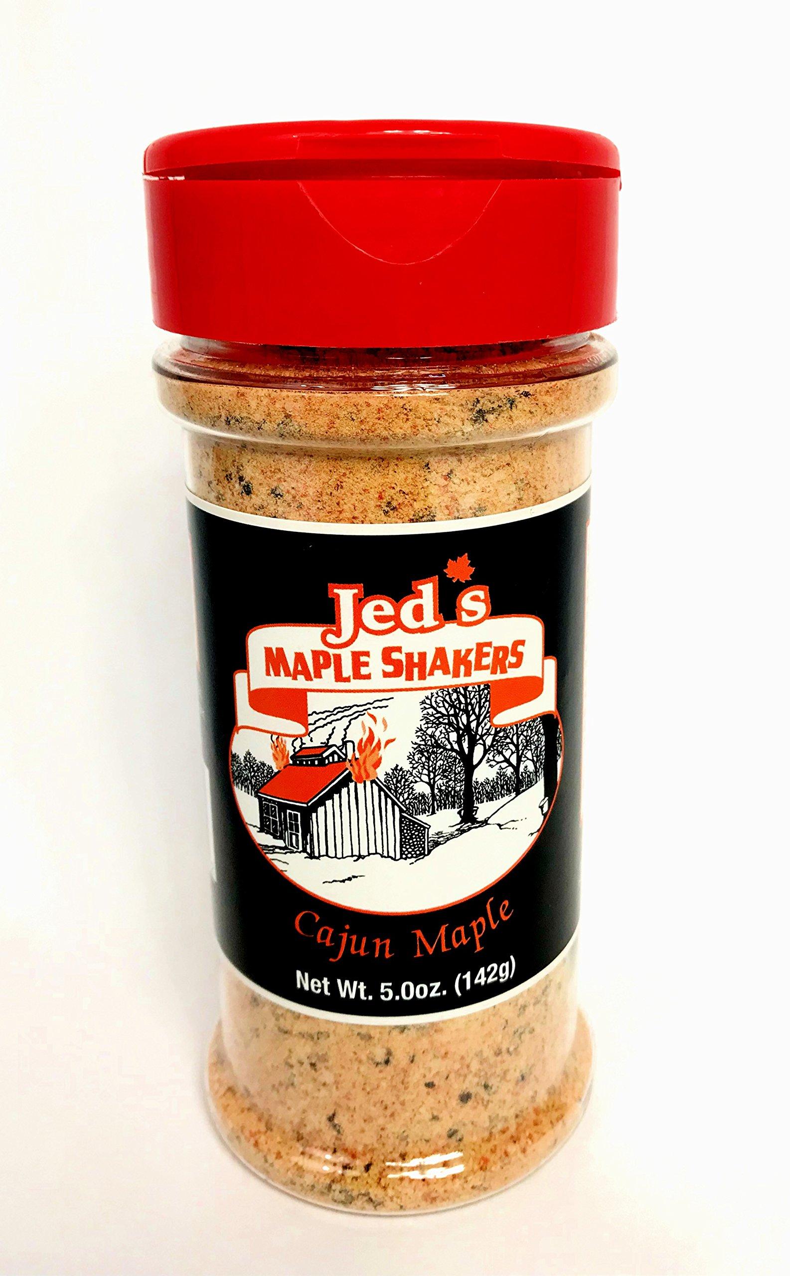 Jed's Cajun Maple Shaker - Seasoning Food - 4.8 oz