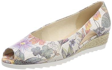 Gabor Shoes Comfort Sport, Ballerines Femme, Multicolore (Multicolor Jute), 40.5 EU
