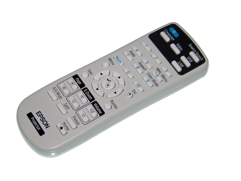 OEM Epson Projector Remote Control: PowerLite Home Cinema 640, PowerLite Home Cinema 740HD, PowerLite Home Cinema 1040 4332749946