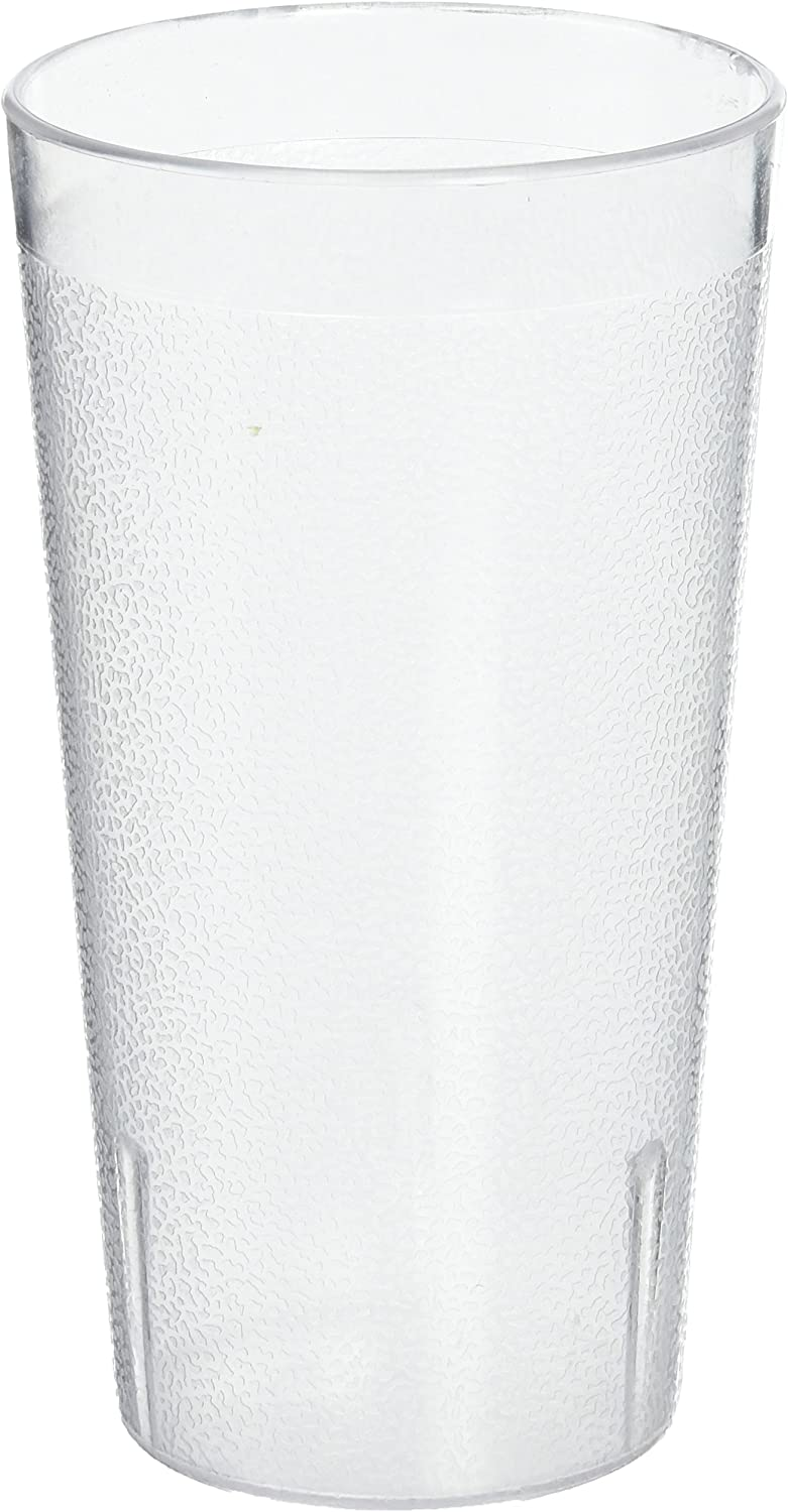 Winco Pebbled Tumblers, 16-Ounce, Clear