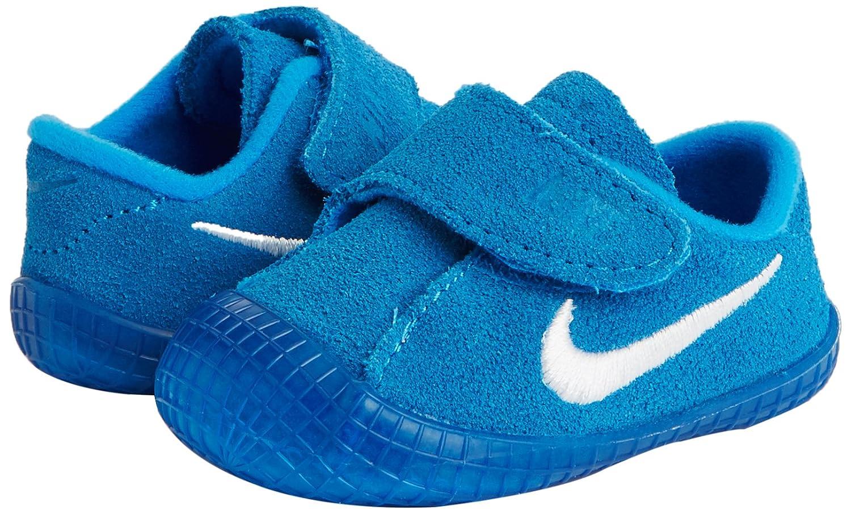 Amazon.com | Nike Waffle 1 (CBV) Baby Shoe (1 M US Toddler, Photo Blue/White) | Sneakers