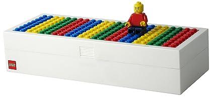 Amazon.com: LEGO Brick estuche para construir con Minifigura ...