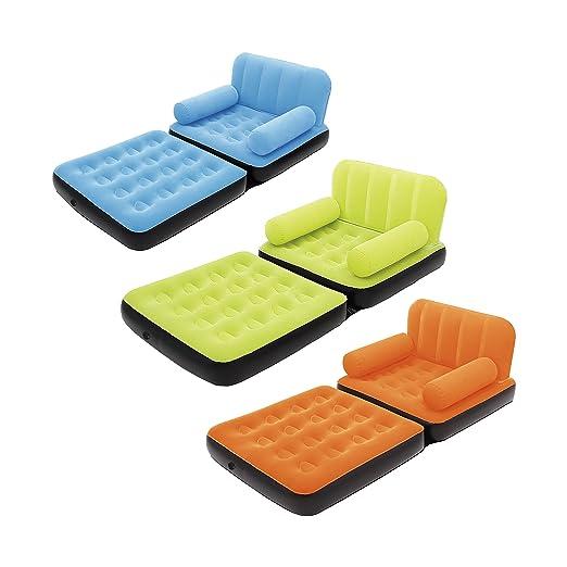 Camping-Schlafausrüstung Sofa Couch Gästebett Luftbett aufblasbar Air Lounger Sofa Lounge Couch Sessel Sport