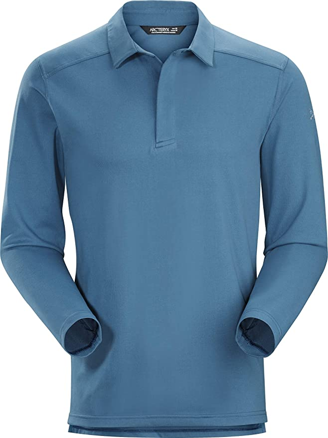 Arcteryx Arcteryx Captive LS Polo Mens, Hombre, Light Hecate, XS ...