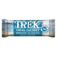 Trek Cocoa Coconut Protein Flapjack Bar 50g (Pack of 16)