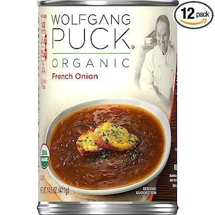 Sopa orgánica, latas de 14.5 onzas (paquete de 12) de ...