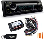 Sony MEX-N5300BT Bluetooth CD Receiver with Steering Wheel Control Interface