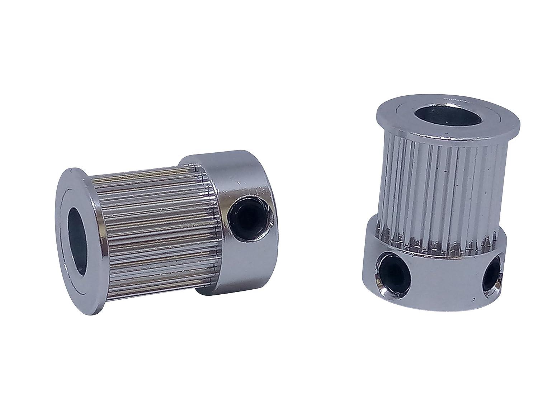 GT2 20Z /Ø6,35mm 2/x GT2/con 10/mm de ancho 16/bzw 20/dientes Polea Pulley seg/ún Elecci/ón ancho 1