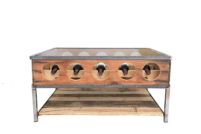 Coffee Table Wine Rack.Wine Rack Coffee Table