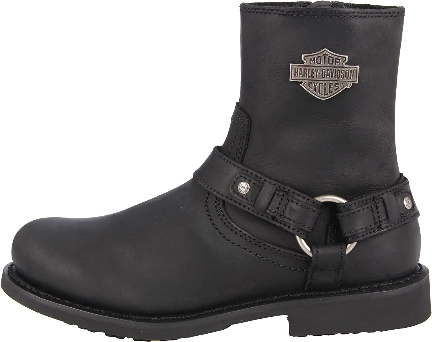 Harley Davidson Boot Scout Black, Taille:42