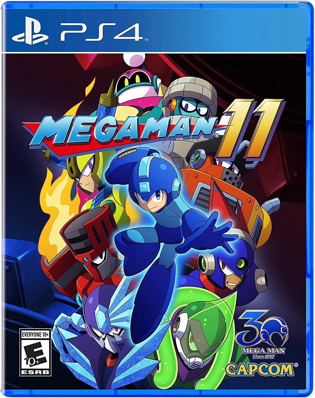 Amazon com: Mega Man 11 - PlayStation 4: Capcom U S a Inc
