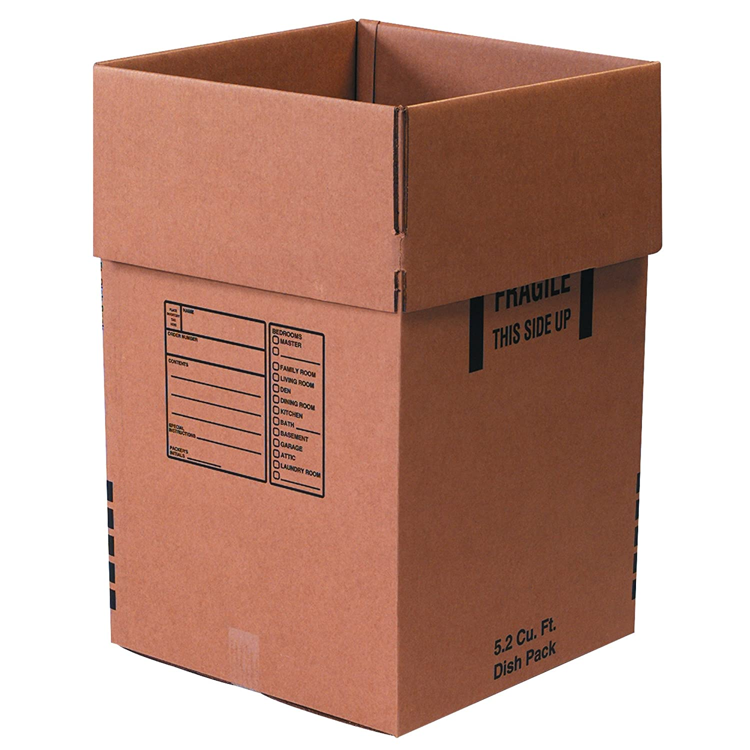 Moving Boxes 18 x 18 x 18 Double Wall Cardboard Box Shipping Packing Storage