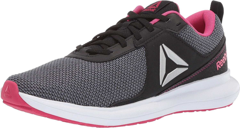 Women/'s Reebok Print Athlux Shatr Running Shoes Black White NEW Pick Size