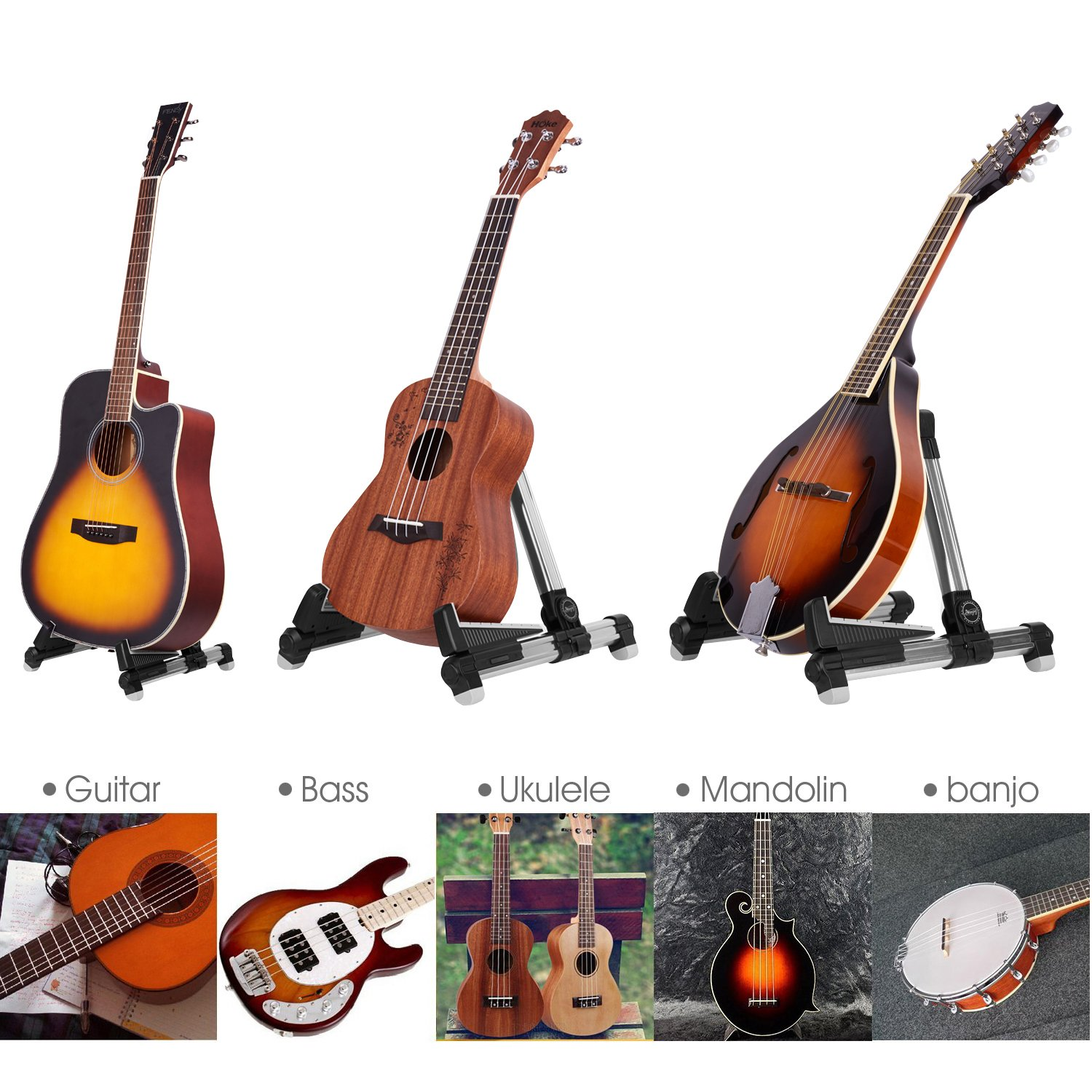guitar stand for acoustic electric classical