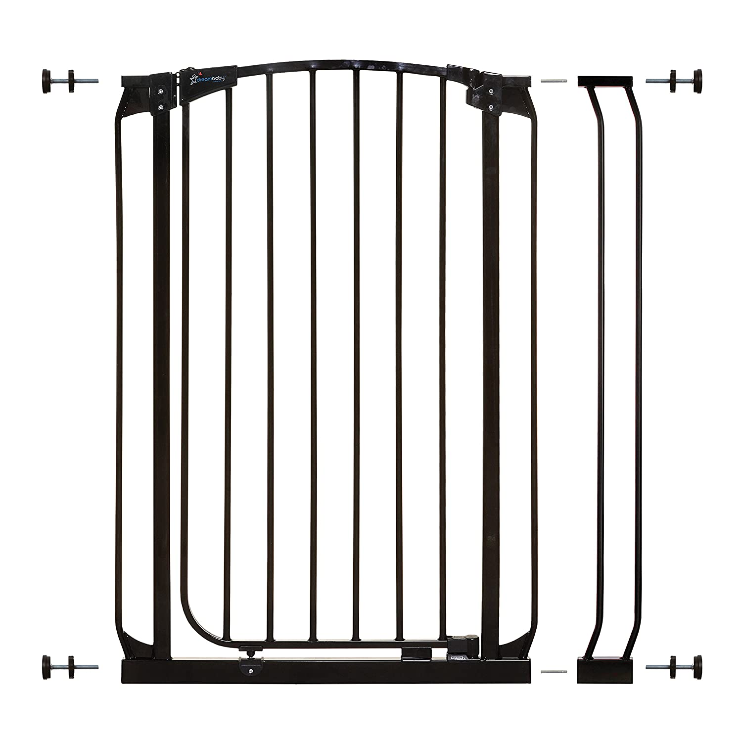 Dreambaby Chelsea Extra Tall Auto Close Security Gate w 3.5 Extension