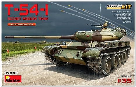 Amazon | ミニアート 1/35 T-54-...