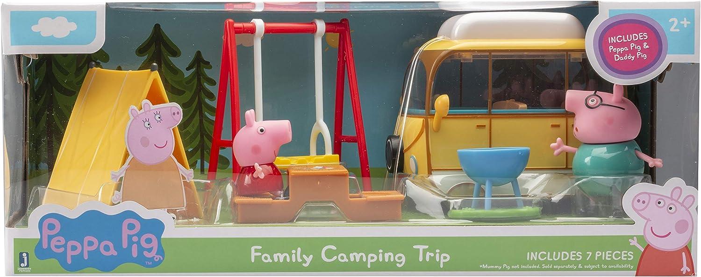 Peppa Pig - Family Camping Trip Playset