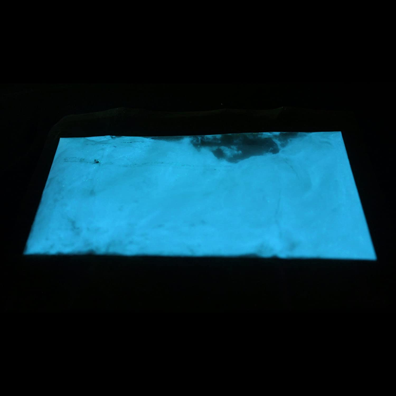 Night nachleuchtendes de Color Polvo 100g, Azul UV Buj/ía de Pigmento selbstleuchtende Color pigmentos Glow lumentics Premium Buj/ía Polvo/ /Ultra Claro nachleucht pigmentos