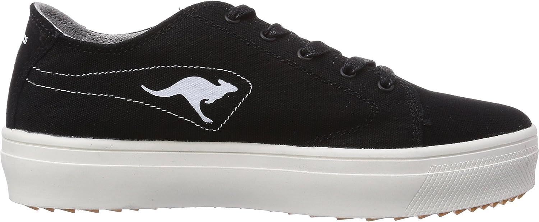 KangaROOS - K-Mid Plateau 5071, Sneaker Basse Donna Nero