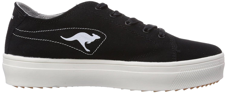KangaROOS K-Mid Plateau 5071, Damen Sneakers, Blau (navy 400), 40 EU