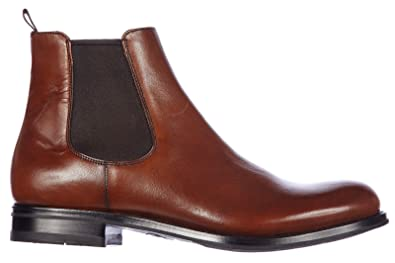 1437f9d3c Prada men s genuine leather ankle boots bruciato deco brown UK size 9  2TA057 3F33 F0038