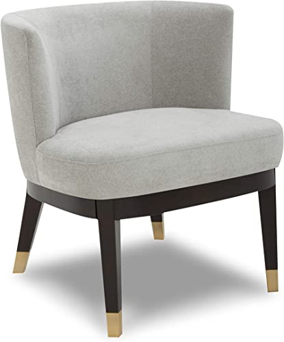 CHITA Mid-Century Modern Fabric Accent Chair