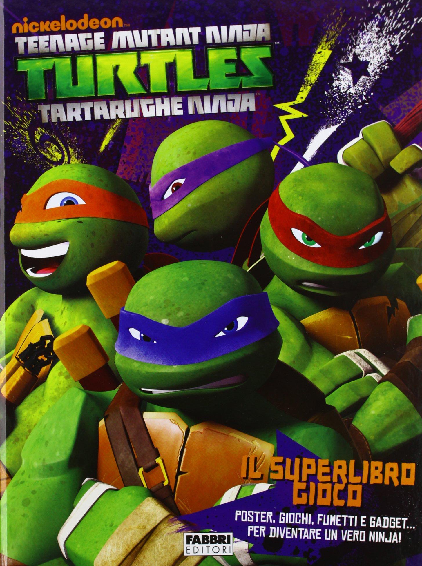 Il superlibro gioco. Turtles Tartarughe Ninja: 9788845198618 ...