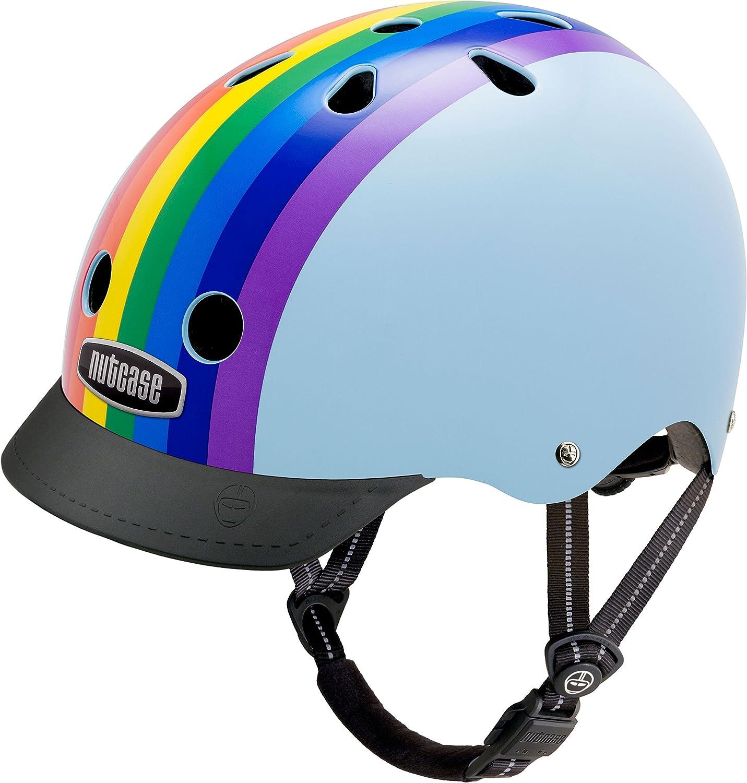 Nutcase(ナットケース) Street Helmet (GEN3) / Lサイズ:60-64cm レインボースカイ