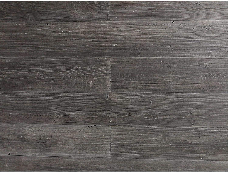 Amazon Com Art3d Wood Wall Decor Peel And Stick Wood Paneling For Walls Dark Gray 16 Sq Ft Home Improvement