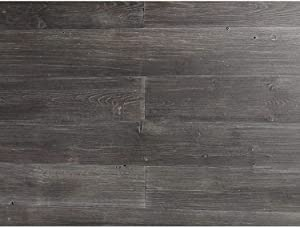 Art3d Wood Wall Decor Peel and Stick Wood Paneling for Walls, Dark Gray (16 Sq Ft)