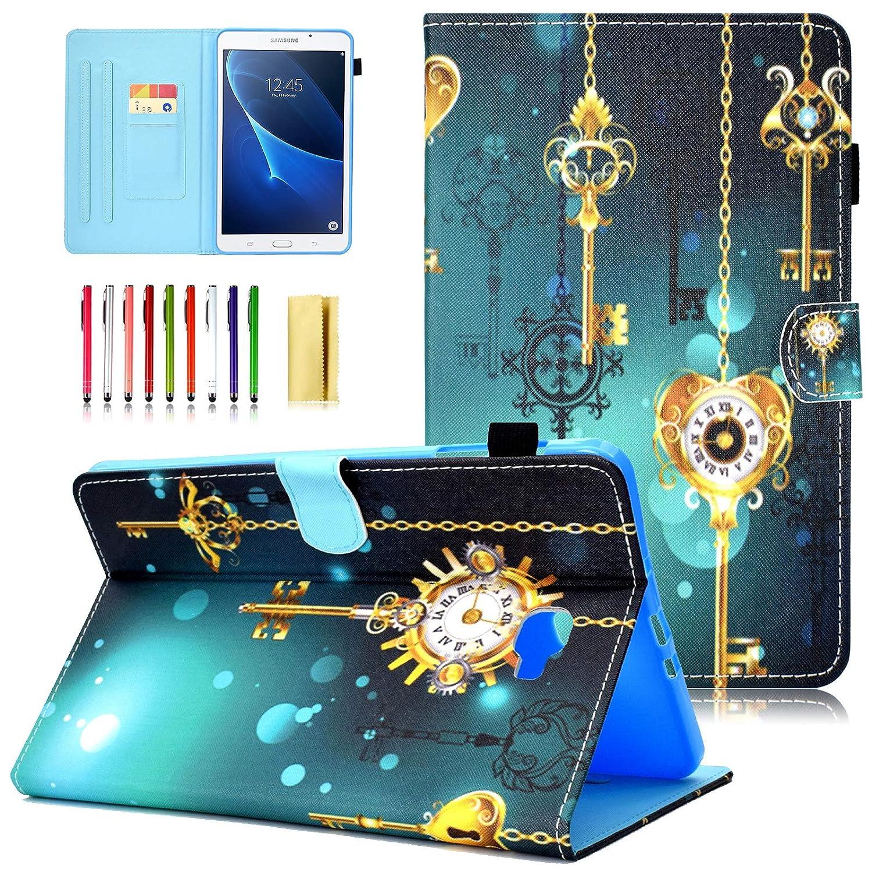 【予約中!】 UUcovers Samsung Galaxy Tab A B07L71XGVZ 10.1ケース スリムフィット PUレザー A フォリオ # フリップスタンドカバー 自動ウェイク/スリープ機能付き スマート保護ケース Samsung Galaxy Tab A 10.1インチタブレット用 (SM-T580/T585) # Antique Clock B07L71XGVZ, 双葉町:12c5655a --- a0267596.xsph.ru