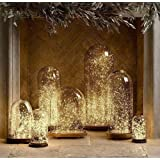 Amazon Price History for:LED String Lights, Pack of 10 Sets LED Moon Lights 20 Micro Starry LEDs on Extra Silver Wire ( Batteries Include), 3.5 Ft for DIY Wedding Decorations Centerpiece (Warm White)