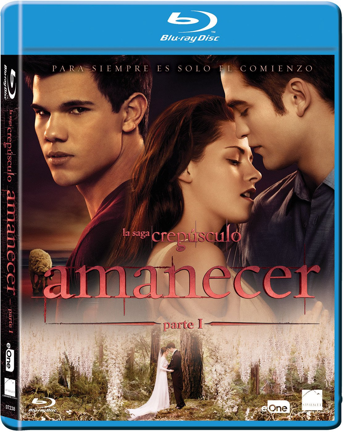 Crepusculo: Amanecer Parte 1 Blu-Ray [Blu-ray]: Amazon.es: Kristen ...