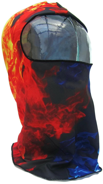 Máscara de 2 tonos Fire/Flame nca Shinobi, Ninja máscara ...