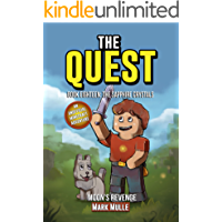 The Quest: Moon's Revenge (Book 18): The Sapphire Crystals (An Unofficial Minecraft Book for Kids Ages 9 - 12 (Preteen) (The Quest: The Untold Story of Steve)